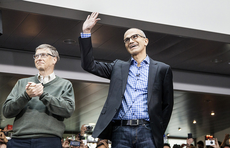 Ctrl, Alt, Nadella: can Microsoft's new CEO reboot the... - The Verge | Reviews all | Scoop.it