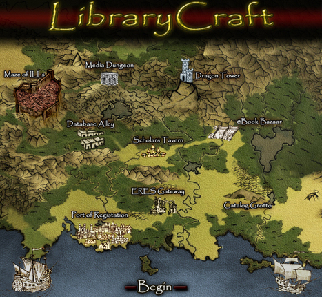 LibraryCraft   Libraries   Scoop.it
