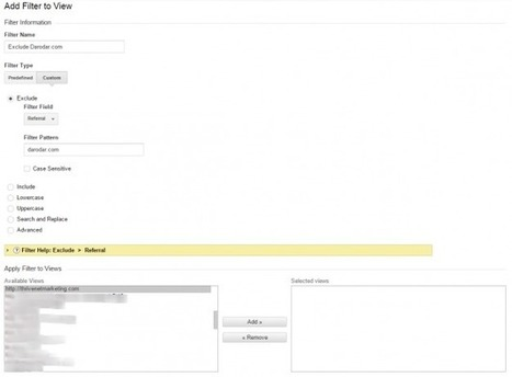 How To Filter Referrer Spam In Google Analytics   thriveideas   Scoop.it