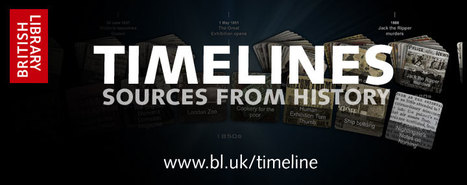 Timelines: Sources from History | Chronologies & Sources | Scoop.it