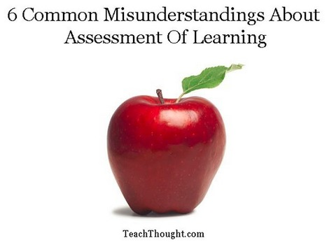 6 Common Misunderstandings About Assessment Of Learning | edanne | Scoop.it