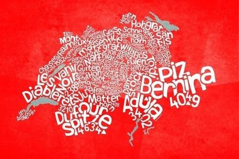 La cartographie élevée au niveau de l'art - SWI swissinfo.ch | Suisse | Scoop.it
