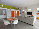Houzz Tour: Splashy Colors Spark a Contemporary Guesthouse | Architecture-Modern | Scoop.it