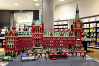 In pictures: the incredible LEGO St Pancras International Station – Now. Here. This. – Time Out London   Heron   Scoop.it