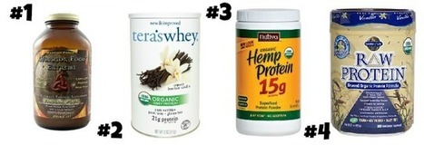 The Healthiest Protein Powders On the Market - Food Babe | Health and Fitness | Scoop.it