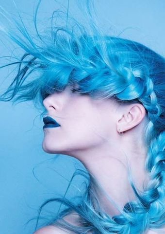 Lovely Blue Hair Color | At Home Beauty Treatments | Scoop.it