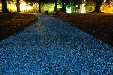 Britain Is Experimenting With a Glowing, Seemingly Self-Aware Bike Path | SCUP Links | Scoop.it