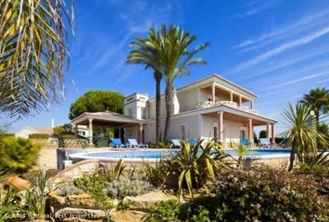 Fantastic 4 bedroom golf villa with heated pool and seaviews in Luz, Lagos | Portugal Best Properties | Scoop.it
