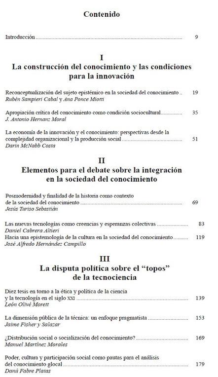 Innovación y dinámicas sociales en la era del conocimiento* | CTS+i ... | Uso inteligente de las herramientas TIC | Scoop.it
