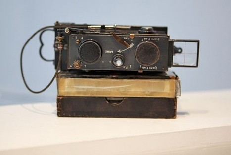 Vintage Cameras Found with Old Film - Visual News | Recording and Archiving Family History | Scoop.it