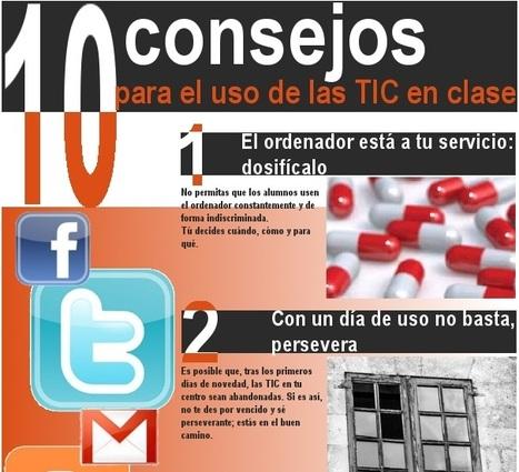10 consejos para el uso de las TIC enclase | aTICser | Scoop.it