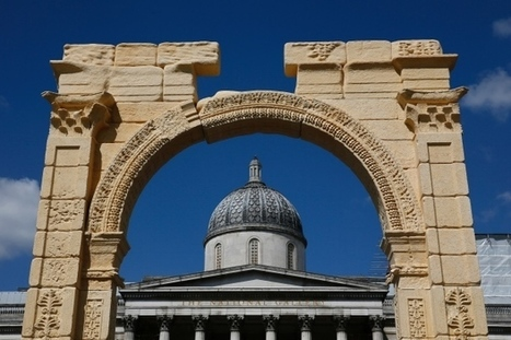 Recreation of destroyed Palmyra arch unveiled in London | CBC (Canada) | Kiosque du monde : Asie | Scoop.it