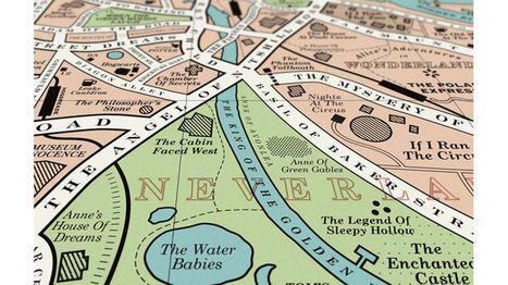 Cartographie : Londres changée en une étrange utopie littéraire - | Les Mots et les Langues | Scoop.it
