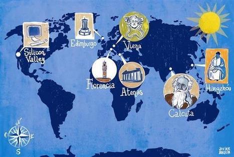 La geografía de la genialidad: hacia un verdadero mapa de las ideas | Nuevas Geografías | Scoop.it