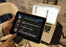 NAB: Never.no debuts social media prompter for TV talent | Social TV is everywhere | Scoop.it