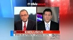 Sniveling Liar Paul Ryan Gets Stomped On Sequester Hypocrisy! (Video)   Daily Crew   Scoop.it