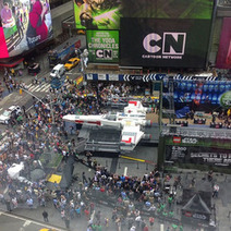 Step Inside A Life-Size Star Wars X-Wing Starfighter Made Out Of LEGOs, In Times Square Now | Heron | Scoop.it