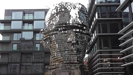 Behold the Kinetic, 39-Ton Statue of Franz Kafka's Head, Erected in Prague: Artist David Černý's Latest Creation | Writers & Books | Scoop.it