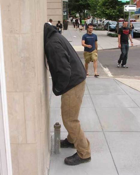 Mark Jenkins | Street Art, échappatoire de l'oeil | Scoop.it