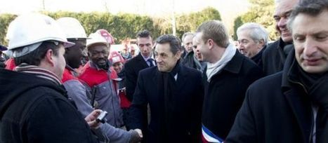 Nicolas Sarkozy fait le (trop) plein d'ouvriers | La revue de presse de la semaine - du 30 janvier au 5 février | Scoop.it