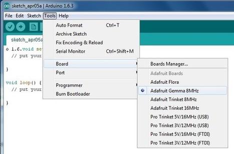 Arduino 1.6.x IDE for Adafruit's Boards   Arduino, Netduino, Rasperry Pi!   Scoop.it
