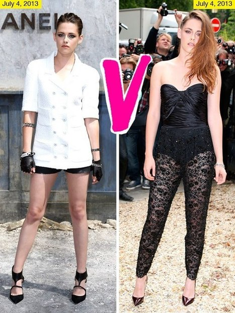 Kristen Stewart's Paris Fashion Week Outfits: Which Look Do You Like? - Hollywood Life | BlingBling | Scoop.it