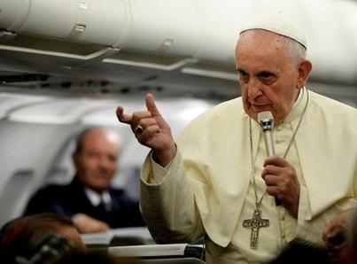 Le pape François: «on ne peut insulter la foi des autres»   Nouvelles de France et du monde   Scoop.it