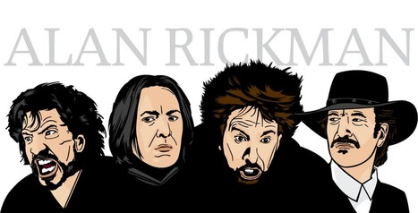 The Many Faces Of… Alan Rickman - A Lesson on How to be a Villain | Cultures & Médias | Scoop.it