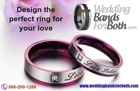 Choosing Your Wedding Bands As a Couple | weddingbandsforboth | Scoop.it