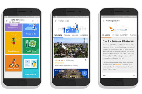 Google's New Travel App Is a Mashup of Guidebook and TripIt | Tourism Social Media | Scoop.it
