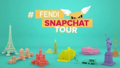 Fendi extends life of Snapchat stories with international album | e-Luxe | Scoop.it