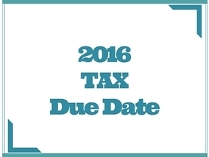 When Are Taxes Due 2016 | Tax & Accounting | Scoop.it