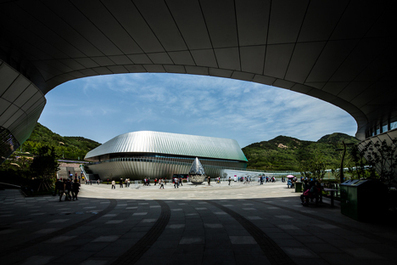 UNStudio completes central pavilion for Qingdao Horticultural Expo | sustainable architecture | Scoop.it