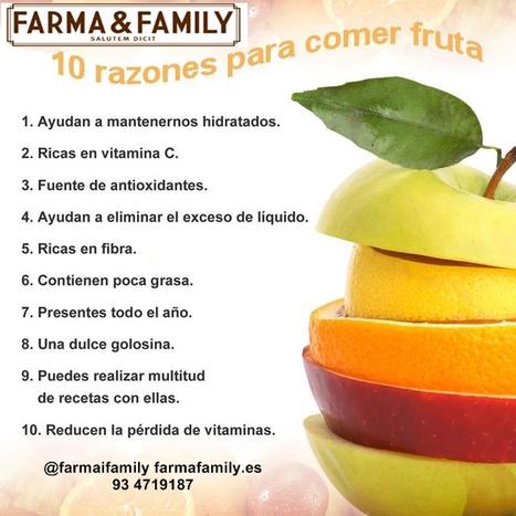 Consejos saludables de Farma&Family | La salud lo primero | Scoop.it