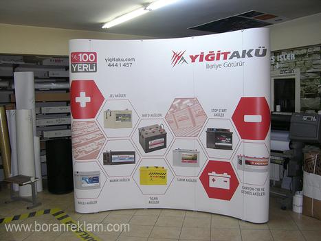 Örümcek Stand | Dijital Baskı | Boran Reklam İstanbul | Uv Baskı - Dijital Baskı - 3d Lenticular | Scoop.it