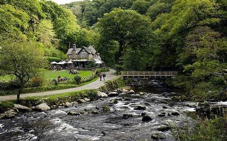 Great winter walks: Watersmeet, North Devon | Conformable Contacts | Scoop.it