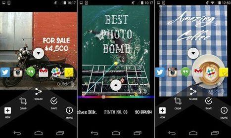 Crear imágenes con frases desde tu smartphone con Quick | Software y Apps | Scoop.it