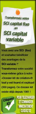 transformer une SCI à capital fixe en SCI à capital variable facilement | Lotissement | Scoop.it