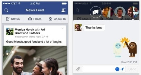 Facebook for iOS update lets you edit posts, add photos to comments | Social Media | Scoop.it