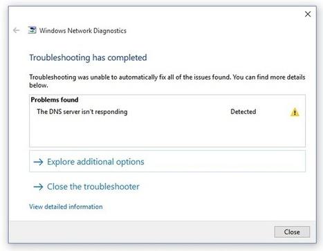 How To Fix The DNS server not responding Error   Wiknix   Scoop.it