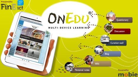 Mobie OnEdu Kiinan televisiossa | Education | Scoop.it