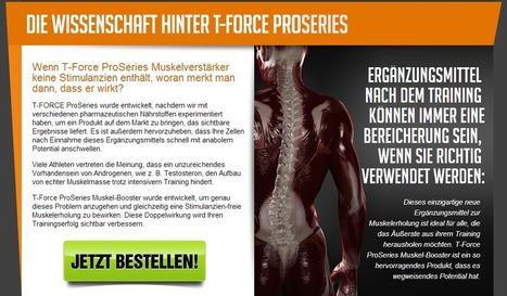 T Force Pro Series - Nicht kaufen, bevor Sie dieses lesen!   Good Supplement For Build Mussels   Scoop.it