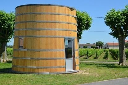Coup 2 Foudres : une chambre de 750 hectolitres - hébergement insolite ! | Vignoble d'Anjou-Saumur | Scoop.it