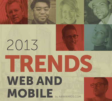 Web Design and Mobile Trends for 2013 eBook: download it for free! | Incursionando en el Diseño Web | Scoop.it