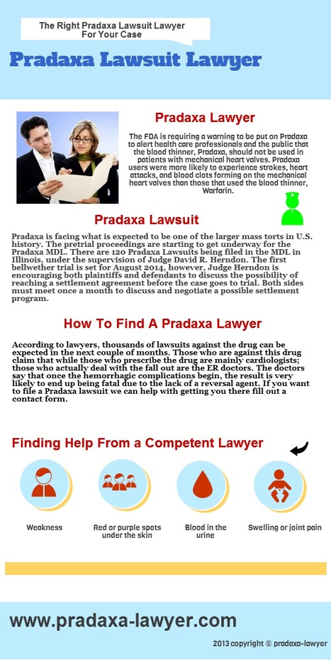 Pradaxa Lawyer   Pradaxa Lawyer   Scoop.it