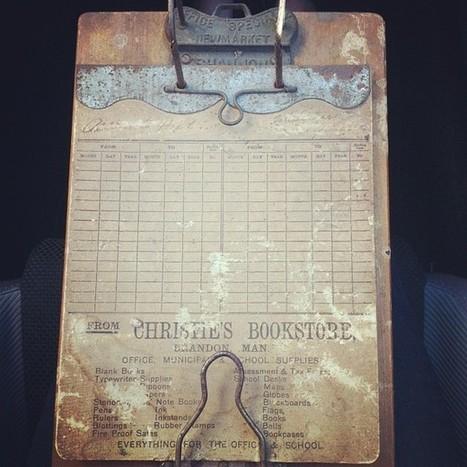 Antique Clip Board | Antiques & Vintage Collectibles | Scoop.it