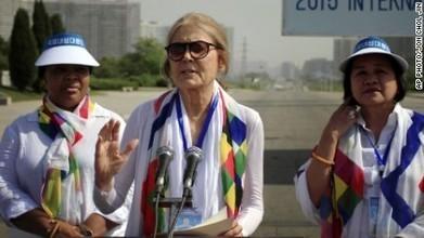 Women activists cross DMZ between North and South Korea - CNN   Gender, Religion, & Politics   Scoop.it