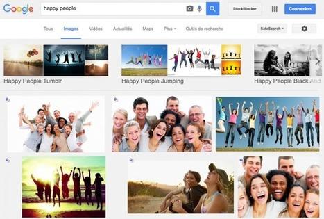 Comment cacher les photos de banques d'images sur Google Images « | giulian | Scoop.it