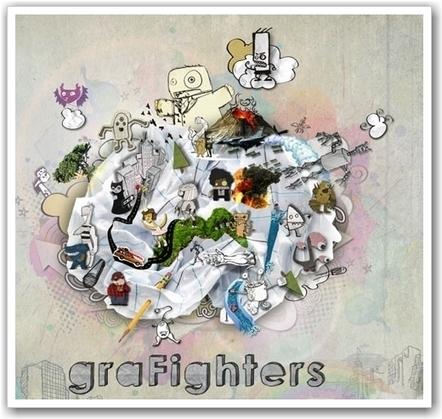 Grafighters : le jeu de combat où vous êtes le character designer | Geeks | Scoop.it