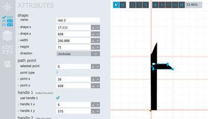 Glyphrstudio : un éditeur de typographie en lig... | Tnarts | Scoop.it